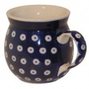 Farmer's mug blue eyes pattern