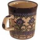 Small mug thistle pattern