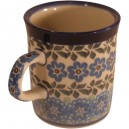 Small mug forget-me-not pattern