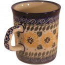 Small mug sunflower pattern