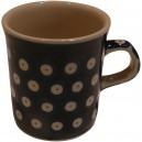Small mug blue eyes pattern